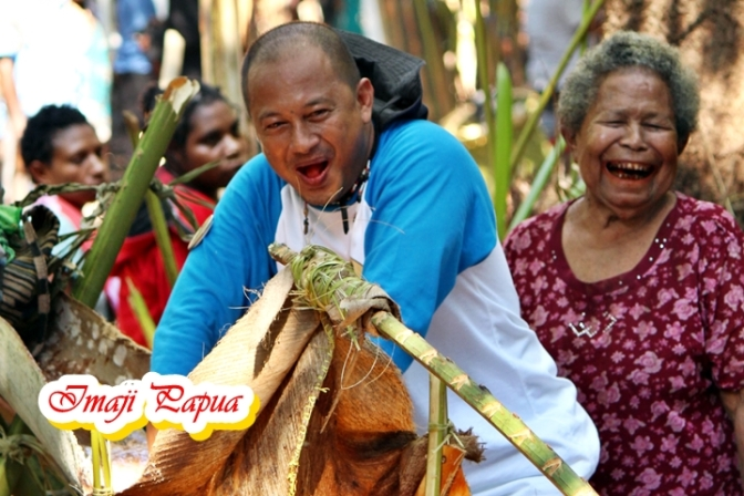 Mengasyikkan! 5 Hal ini di jumpai di Festival Sagu Papua
