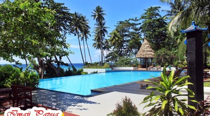 Hotel Asana Biak Bernuansa Pesisir Pantai