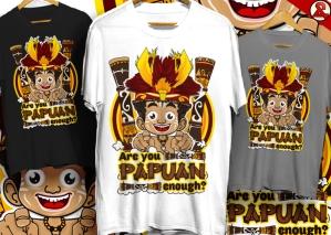 tshirt papua