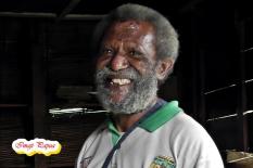 Didimus Tebay, 68 tahun, petani kopi