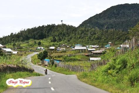 road to paniai