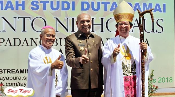 [Adv] Walikota Jayapura Resmikan Rumah Studi Duta Damai St. Nicholaus