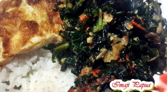 [Kuliner] Tumis Daun Pepaya Jantung Pisang Ala Papua, Begini Cara Masaknya!