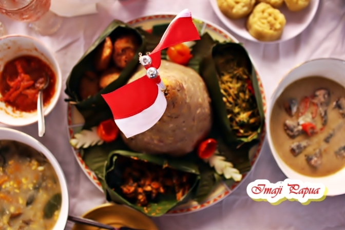 Icip – icip Kuliner Nusantara di Pameran Hasil Pembangunan Kota Jayapura