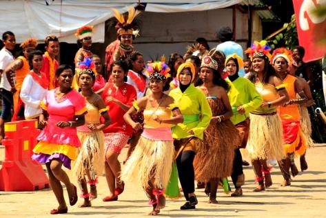 Seiring Seirama at Home Credit Indonesia_Yulika_081248213890_jurnalis warga_Imaji Papua
