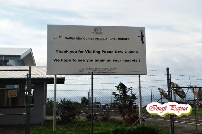 Berwisata di Perbatasan Papua Nugini