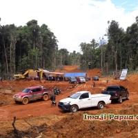 [VLOG] Jurnal Abock Busup - Pencanangan Pembangunan Ruas Jalan Dekai - Korupun