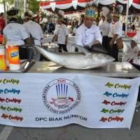Berburu Kuliner di Festival Biak Munara Wampasi