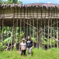 Wisata Petualangan Rumah Pohon Suku Momuna di Dekai Yahukimo