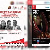 Perum PFN Gandeng Imaji Papua Preview dan Diskusi Film Noken Rahim Kedua